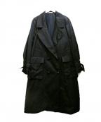NEHERA(ネヘラ)の古着「トレンチコート」|ブラック