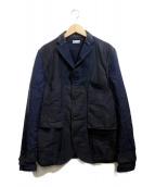 kolor/BEACON(カラービーコン)の古着「切替ジャケット」 ネイビー