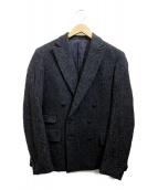 NUMERO UNO(ヌメロ ウーノ)の古着「ダブルジャケット」 グレー