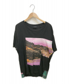 DIESEL(ディーゼル)の古着「Tシャツ」|ブラック