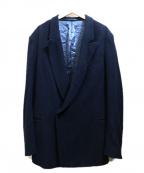 Hed Mayner(ヘド メイナー)の古着「オーバーサイズダブルブレストジャケット」|ネイビー