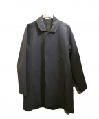 WRAPINKNOT(ラッピンノット)の古着「ボンディングジャージーコート」|グレー