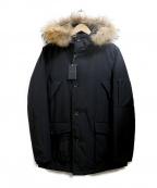 MR.OLIVE(ミスターオリーブ)の古着「撥水加工ラクーンファーマウンテンコート」|ブラック