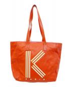 KENZO(ケンゾー)の古着「トートバッグ」|レッド