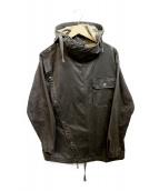 Engineered Garments(エンジニアドガーメンツ)の古着「プルオーバーフーデットジャケット」|チャコールグレー