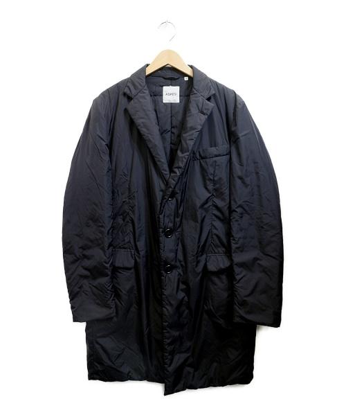 ASPESI(アスペジ)ASPESI (アスペジ) 中綿コート ブラック サイズ:Mの古着・服飾アイテム