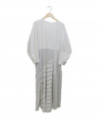 ELENDEEK(エレンディーク)の古着「ブラウスワンピース」|ホワイト