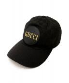 GUCCI(グッチ)の古着「ベースボールキャップ」|ブラック