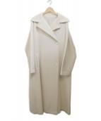 YOHJI YAMAMOTO(ヨウジヤマモト)の古着「ロングコート」|アイボリー