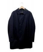 TOMORROW LAND(トゥモローランド)の古着「ライナー付ステンカラーコート」|ネイビー