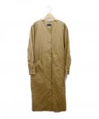 ROSSO(ロッソ)の古着「ライナー付ノーカラーコート」
