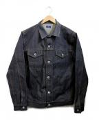 DENIM BY VANQUISH&FRAGMENT(デニムバイヴァンキッシュ&フラグメント)の古着「デニムジャケット」