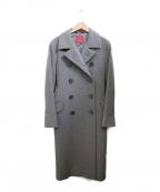 AMACA(アマカ)の古着「ダブルブレストコート」 グレー