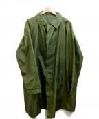 GRENFELL(グレンフェル)の古着「ナイロンコート」|カーキ
