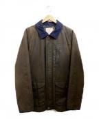 BROOKS BROTHERS Red Fleece(ブルックスブラザーズレッドフリース)の古着「オイルドコートジャケット」|カーキ