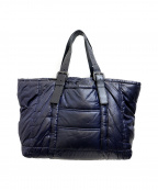 BOTTEGA VENETA()の古着「中綿ナイロントートバッグ」|ネイビー