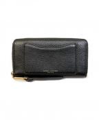MARC JACOBS()の古着「ラウンドファスナー長財布」|ブラック