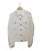 MINEDENIM(マインデニム)の古着「デニムジャケット」|ホワイト
