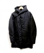 Junhashimoto(ジュンハシモト)の古着「HOOD WRAP DOWN COAT」 ブラック