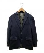 UNIVERSAL LANGUAGE(ユニバーサルランゲージ)の古着「テーラードジャケット」 ネイビー