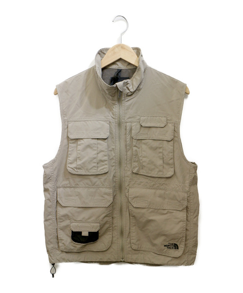 THE NORTH FACE(ザ ノース フェイス)THE NORTH FACE (ザノースフェイス) Earthly Vest カーキ サイズ:Mの古着・服飾アイテム