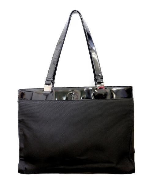 GUCCI(グッチ)GUCCI (グッチ) トートバッグ ブラック 002・1039 001998の古着・服飾アイテム