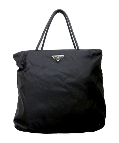 PRADA(プラダ)PRADA (プラダ) ナイロントートバッグ ブラック B7699の古着・服飾アイテム