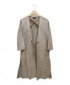 sisii(シシ)の古着「スウェードコート」|ブラウン