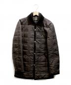 BURBERRY BLACK LABEL()の古着「キルティングジャケット」 ブラウン