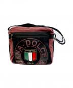 DOLCE & GABBANA(ドルチェ&ガッバーナ)の古着「DGロゴショルダーバッグ」|ブラック