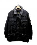 Barbour()の古着「オイルドジャケット」|ブラック
