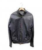 GIORGIO BRATO(ジョルジオ ブラッド)の古着「レザージャケット」 グレー