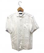 BLACK LABEL CRESTBRIDGE(ブラックレーベルクレストブリッジ)の古着「リネンシャツ」|ホワイト