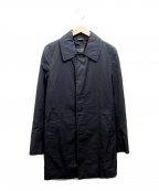 COMME des GARCONS HOMME DEUX(コムデギャルソン オム ドゥ)の古着「ステンカラーコート」|ブラック