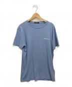 REPLAY(リプレイ)の古着「ロゴTシャツ」|ブルー