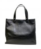 KITAMURA(キタムラ)の古着「レザートートバッグ」 ブラック
