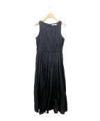 MARIHA(マリハ)の古着「ノースリーブワンピース」|ブラック