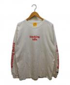 FR2(エフアールツー)の古着「プリントカットソー」 ホワイト
