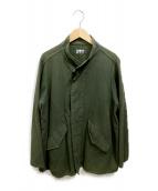 ()の古着「スタンドカラーミドルジャケット」|オリーブ