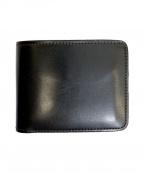 WILDSWANS(ワイルドスワンズ)の古着「2つ折り財布」|ブラック