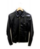()の古着「レザージャケット」 ブラック