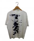 LAD MUSICIAN()の古着「プリントTシャツ」 ホワイト