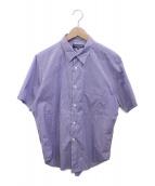 ()の古着「半袖シャツ」 ネイビー