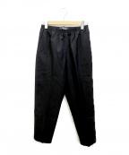 CellarDoor(セラードアー)の古着「イージースラックスパンツ」|ブラック