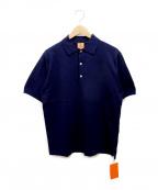 ANDERSEN-ANDERSEN(アンデルセン アンデルセン)の古着「ポロシャツ」 ネイビー