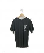 stussy()の古着「プリントTシャツ」|ブラック