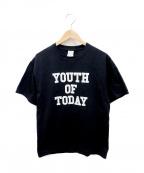 Noah(ノア)の古着「Tシャツ」 ブラック