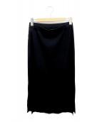 theory(セオリー)の古着「ニットスカート」|ブラック