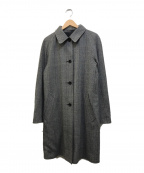 Giacometti(ジャコメッティ)の古着「リバーシブルシングルコート」 ネイビー×ヘリンボーン