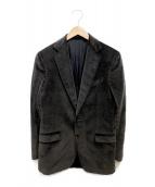 ()の古着「ベロアジャケット」|グレー